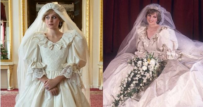 Mỹ nhân đóng Công nương Diana 'thả rông' táo bạo trên tạp chí ảnh 9