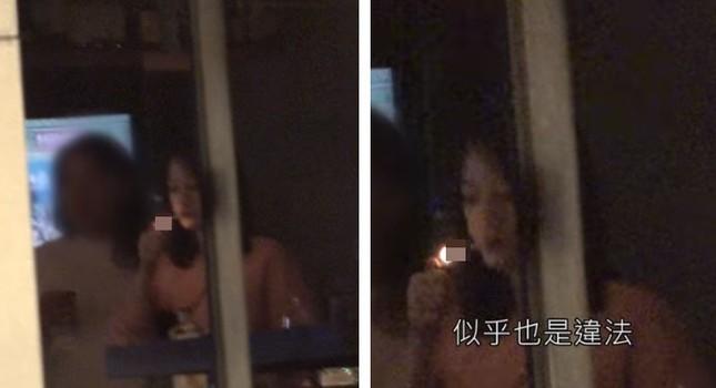 Trần Kiều Ân gây tranh cãi vì lộ hình ảnh uống rượu, hút thuốc bên bạn trai ảnh 3