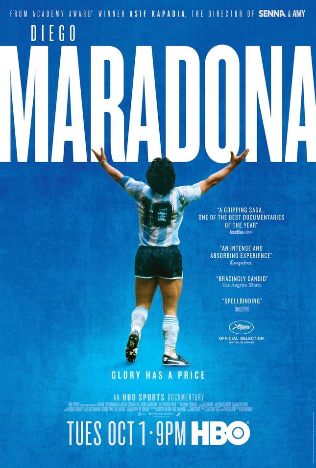 Những bộ phim phải xem nếu muốn hiểu về cố huyền thoại bóng đá Maradona ảnh 1