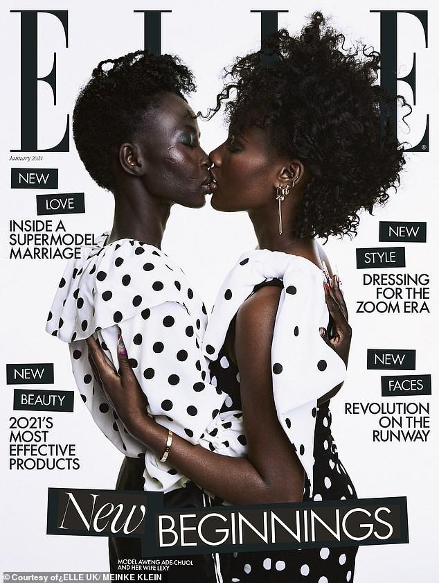 Câu chuyện xúc động đằng sau trang bìa có hai phụ nữ da đen hôn nhau ảnh 1