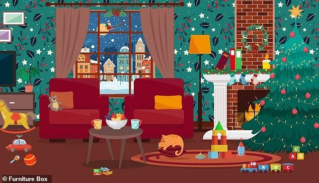 Trò chơi 'Hack não': Tìm mũ của ông già Noel trong giấy gói quà ảnh 2