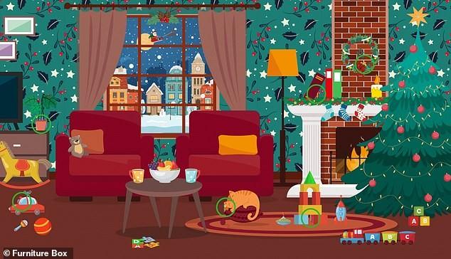 Trò chơi 'Hack não': Tìm mũ của ông già Noel trong giấy gói quà ảnh 9