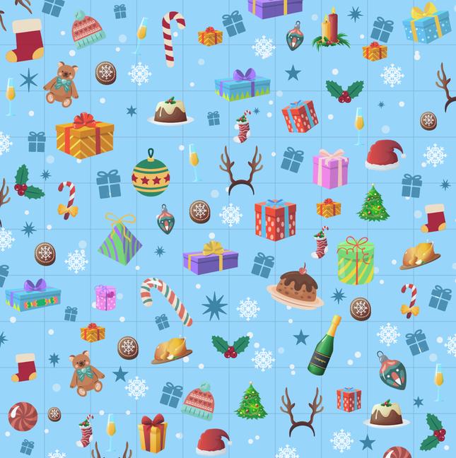 Trò chơi 'Hack não': Tìm mũ của ông già Noel trong giấy gói quà ảnh 5