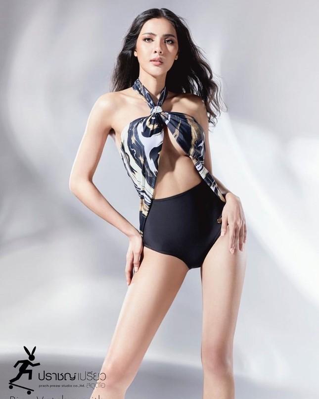 Ngoại hình 'bốc lửa' của người mẫu 27 tuổi đăng quang Hoa hậu Thái Lan 2020 ảnh 9