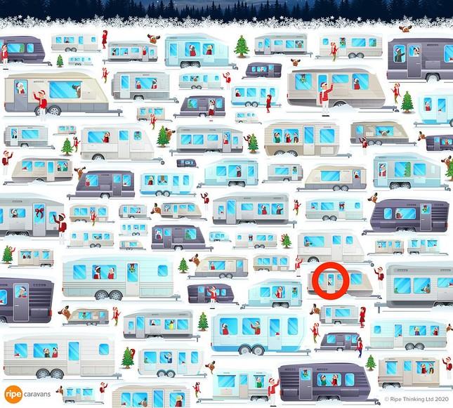 Trò chơi 'hack não' mùa Giáng sinh: Tìm chú gấu lẩn trốn giữa đàn tuần lộc ảnh 7