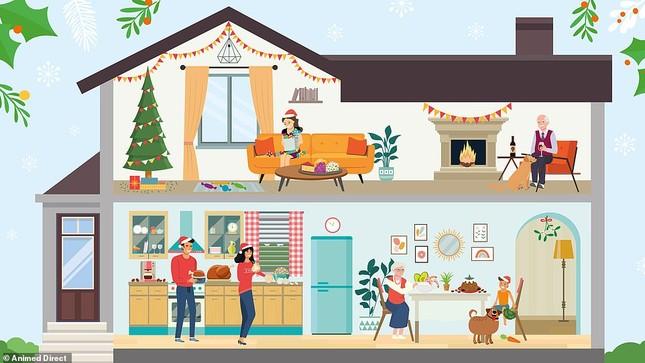 Trò chơi 'hack não' mùa Giáng sinh: Tìm chú gấu lẩn trốn giữa đàn tuần lộc ảnh 3
