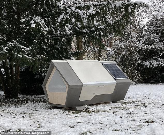 Bất ngờ với thiết kế tiện lợi của 'buồng ngủ di động' dành cho người vô gia cư ảnh 6