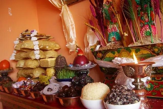Cùng với mía, loạt trái cây nào không thể thiếu trong nhà người Bhutan dịp Tết cổ truyền?