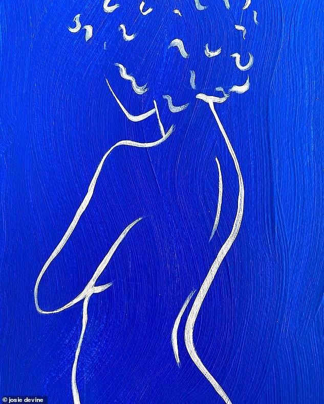 Vẽ tranh khỏa thân chống chán ngày dịch, 9x bỏ việc chính vì kiếm bộn tiền ảnh 4