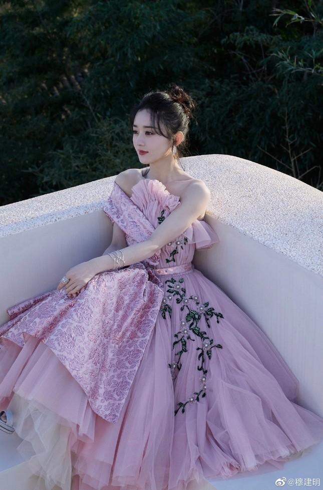 'Mẹ bỉm sữa' Triệu Lệ Dĩnh xinh đẹp, ngọt ngào như công chúa ảnh 9