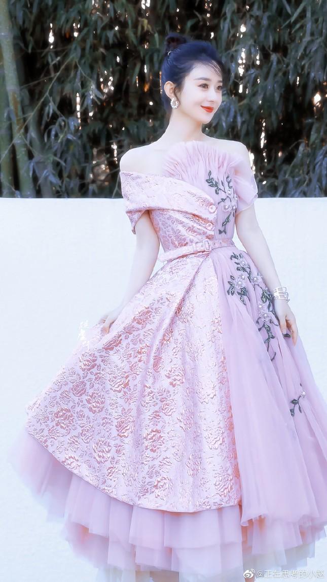 'Mẹ bỉm sữa' Triệu Lệ Dĩnh xinh đẹp, ngọt ngào như công chúa ảnh 3