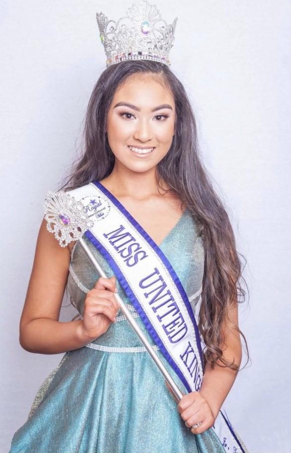 Thiếu nữ 16 tuổi gốc Việt đăng quang cuộc thi sắc đẹp ở Anh ảnh 1