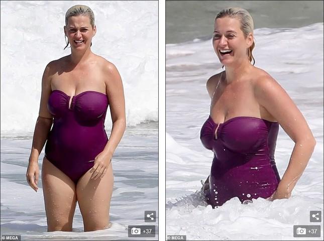 Lộ hình thể đẫy đà khi mặc đồ bơi, mẹ bỉm sữa Katy Perry ghi điểm với mặt mộc xuất sắc ảnh 6