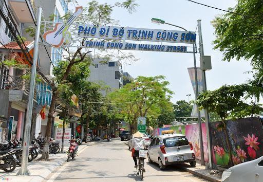 Phố đi bộ Trịnh Công Sơn được phê duyệt chính thức vào năm nào?