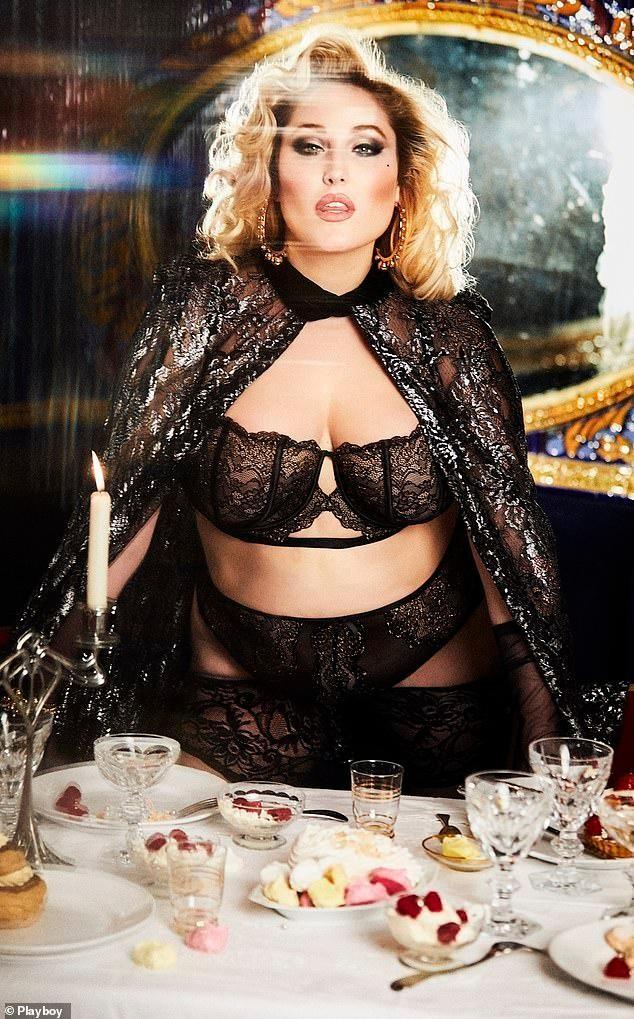 Người mẫu ngoại cỡ đầu tiên chụp ảnh khỏa thân cho tạp chí đàn ông Playboy ảnh 2