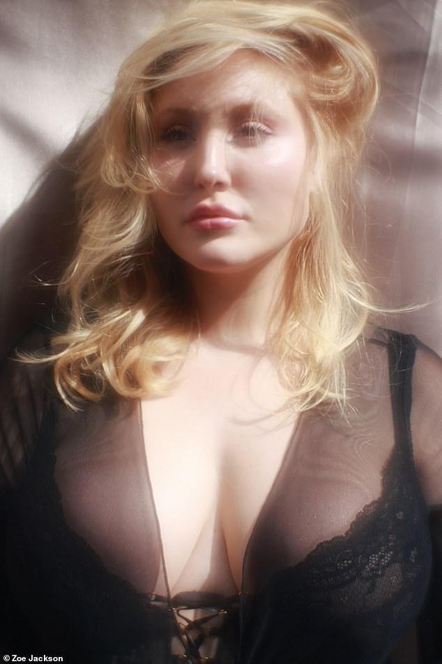 Người mẫu ngoại cỡ đầu tiên chụp ảnh khỏa thân cho tạp chí đàn ông Playboy ảnh 3