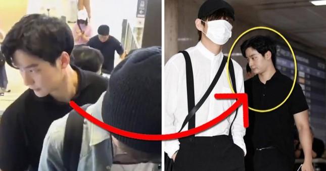 Dàn vệ sĩ của sao K-pop gây 'bão' mạng vì sở hữu ngoại hình xuất sắc ảnh 6
