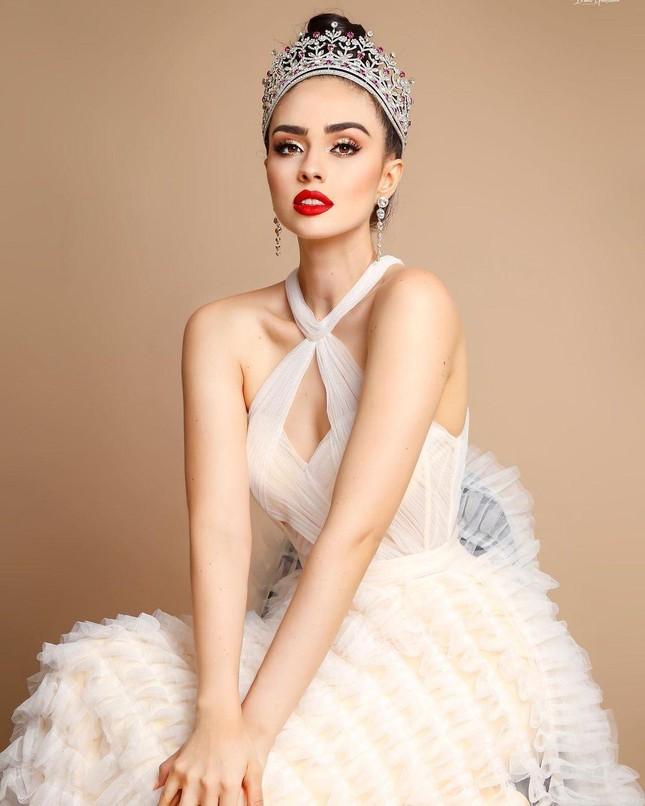 Nhan sắc 'chân dài' 1m79 vừa đăng quang Hoa hậu Hoàn vũ Mexico 2021 ảnh 3