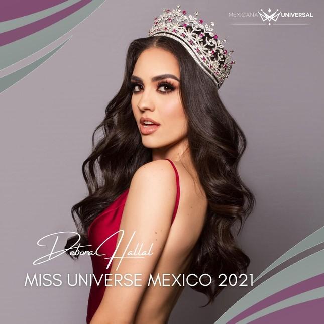 Nhan sắc 'chân dài' 1m79 vừa đăng quang Hoa hậu Hoàn vũ Mexico 2021 ảnh 1
