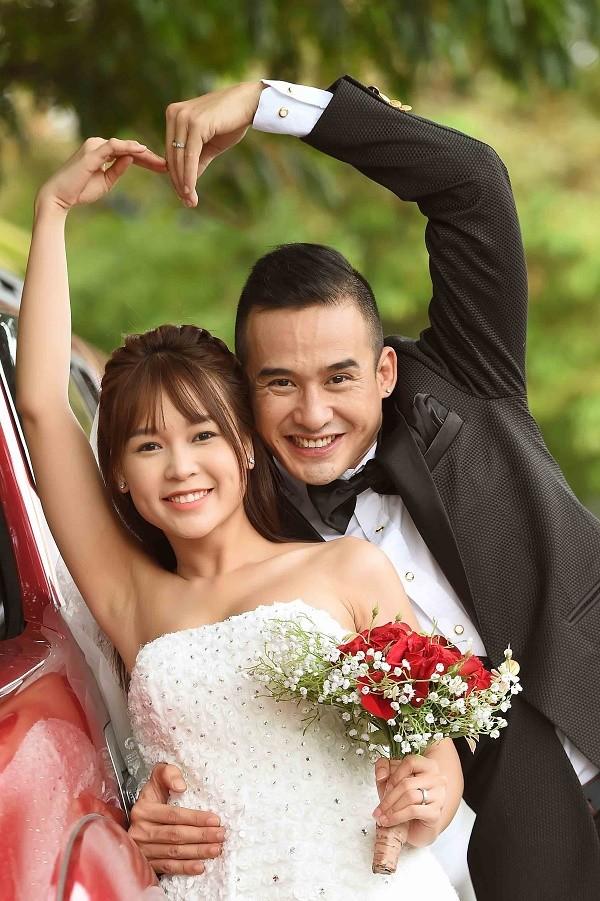 Lương Thế Thành và Sam đầy hạnh phúc trong bộ ảnh cưới mới ảnh 1