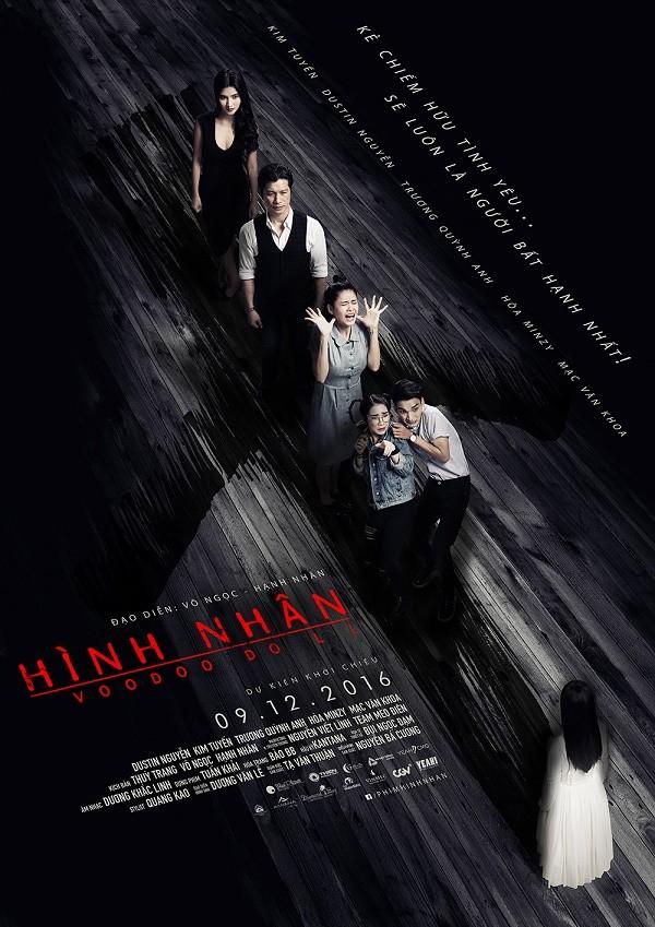 """""""Hình nhân"""" công bố poster và tạo hình kinh dị của Trương Quỳnh Anh ảnh 3"""