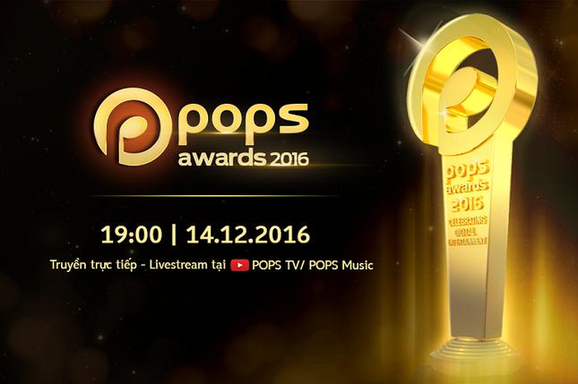 Chính thức khởi động giải thưởng POPS Awards 2016 ảnh 1