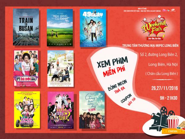 """Teen Hà Nội, cơ hội xem miễn phí 8 bộ phim """"bom tấn"""" đang chờ bạn! ảnh 2"""