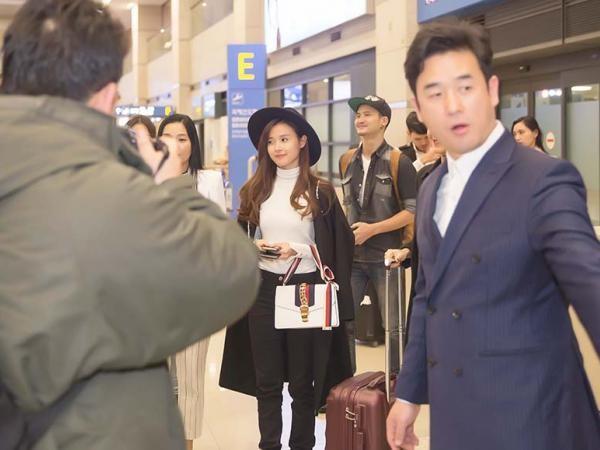 Mi Du được truyền thông Hàn chào đón khi đến Hàn Quốc