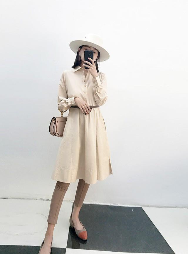 5 mẫu váy đang được các tín đồ thời trang châu Á diện nhiều nhất khi tiết trời se lạnh ảnh 6