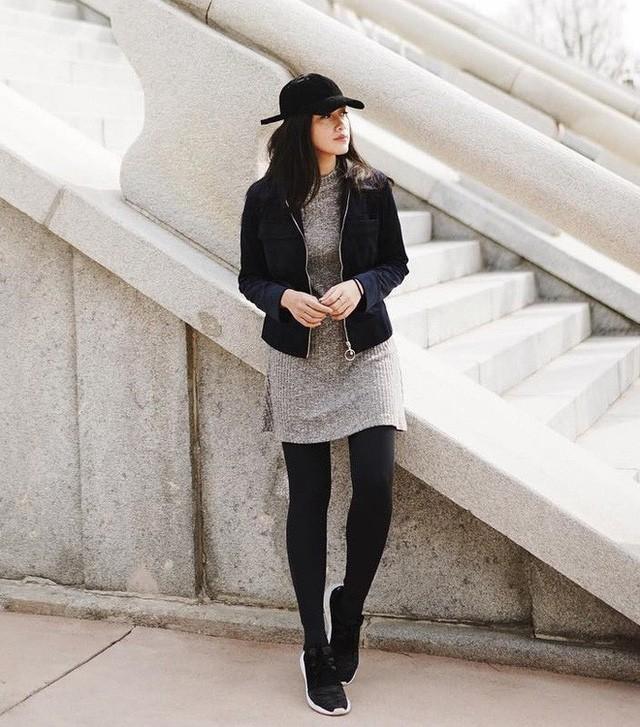 5 mẫu váy đang được các tín đồ thời trang châu Á diện nhiều nhất khi tiết trời se lạnh ảnh 11