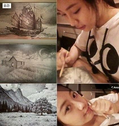 Bạn chắc chắn sẽ bất ngờ khi biết nhiều idol K-Pop còn là những họa sĩ tài ba ảnh 4