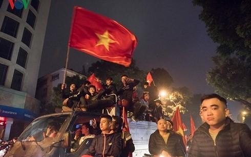 VFF lên kế hoạch cho U23 Việt Nam diễu hành bằng xe buýt 2 tầng ảnh 1