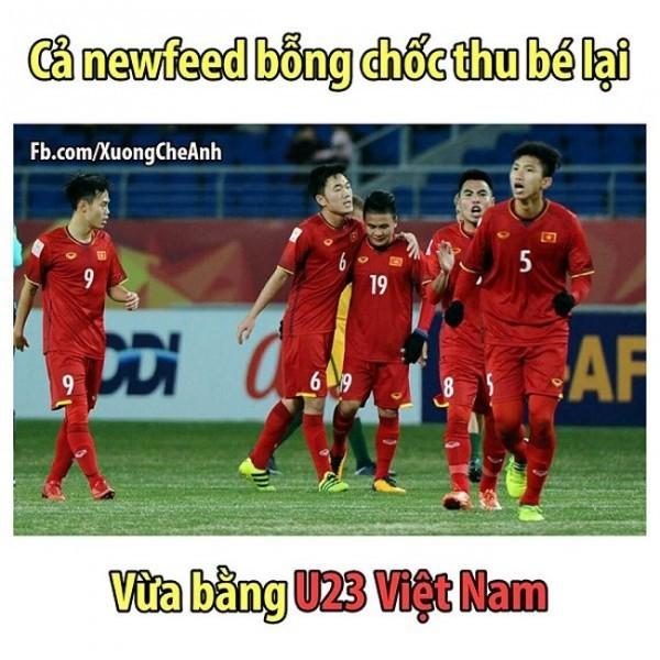Loạt ảnh chế siêu hài hước lấy cảm hứng từ những chàng trai U23 Việt Nam ảnh 2