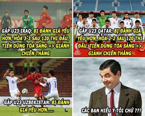 Loạt ảnh chế siêu hài hước lấy cảm hứng từ những chàng trai U23 Việt Nam ảnh 9