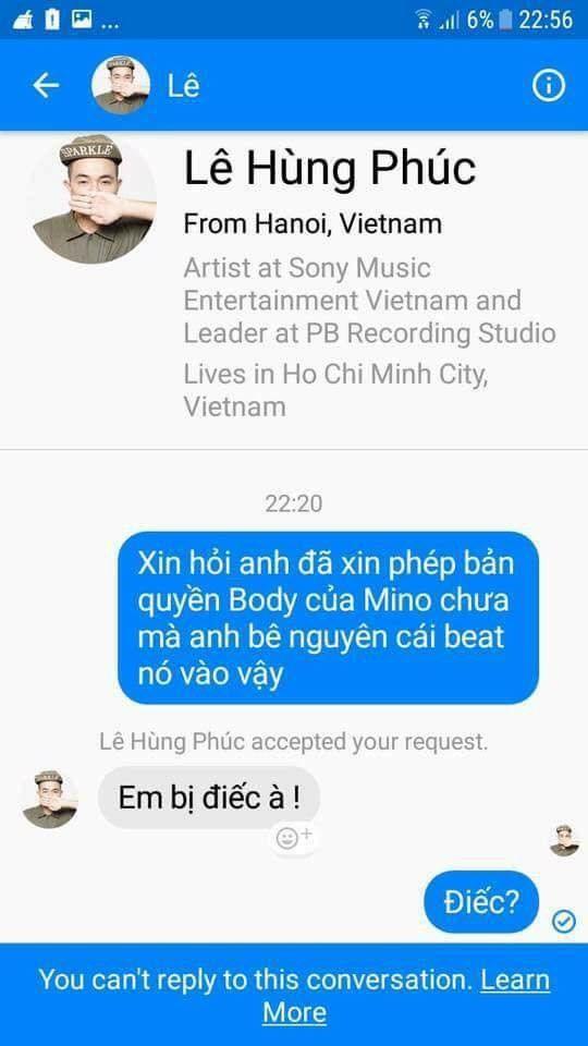 Sau nghi án đạo nhái, Phúc Bồ đăng clip xin lỗi vì đã xúc phạm fan K-Pop và Mino (WINNER) ảnh 1