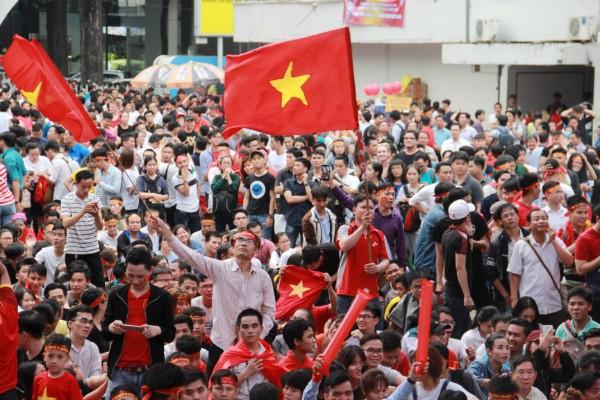 Những tụ điểm xem U23 Việt Nam CK khắp 3 miền, cả đất nước hướng về các cầu thủ ảnh 1