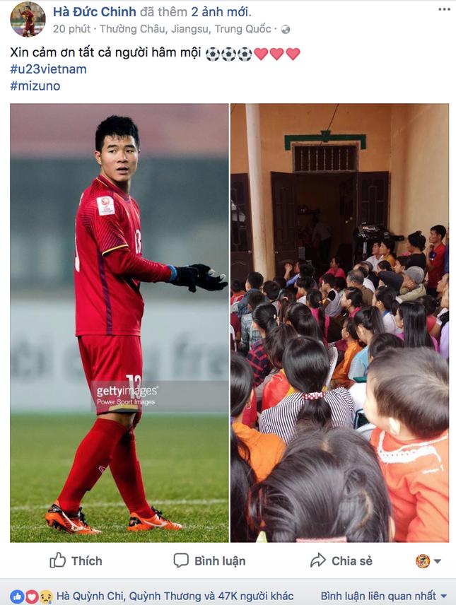 Nhiều cầu thủ U23 Việt Nam lên tiếng xin lỗi người hâm mộ dù đã thi đấu hết sức ảnh 2