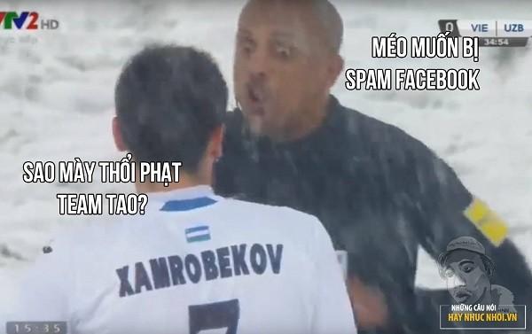 """Cười """"té ghế"""" với ảnh chế Ahmed Alkaf - trọng tài """"soái ca"""" công tâm nhất giải U23 châu Á ảnh 10"""