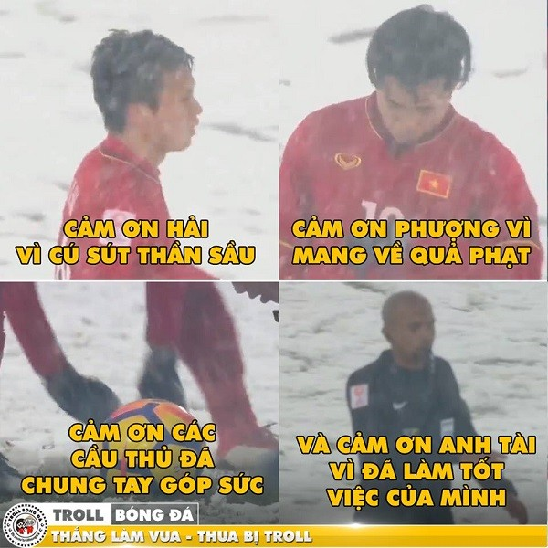 """Cười """"té ghế"""" với ảnh chế Ahmed Alkaf - trọng tài """"soái ca"""" công tâm nhất giải U23 châu Á ảnh 13"""