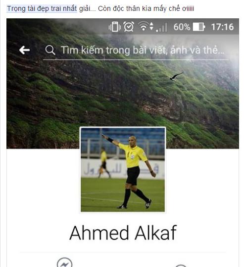 """Cười """"té ghế"""" với ảnh chế Ahmed Alkaf - trọng tài """"soái ca"""" công tâm nhất giải U23 châu Á ảnh 14"""