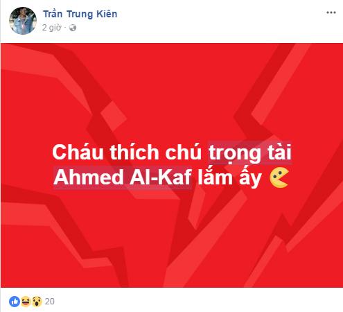 """Cười """"té ghế"""" với ảnh chế Ahmed Alkaf - trọng tài """"soái ca"""" công tâm nhất giải U23 châu Á ảnh 16"""