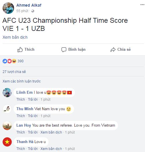 """Cười """"té ghế"""" với ảnh chế Ahmed Alkaf - trọng tài """"soái ca"""" công tâm nhất giải U23 châu Á ảnh 18"""