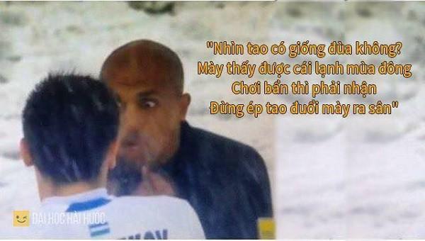 """Cười """"té ghế"""" với ảnh chế Ahmed Alkaf - trọng tài """"soái ca"""" công tâm nhất giải U23 châu Á ảnh 7"""