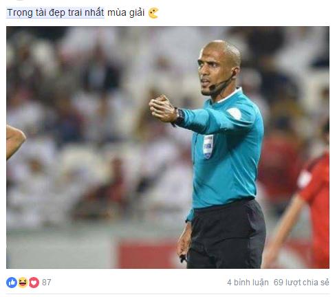 """Cười """"té ghế"""" với ảnh chế Ahmed Alkaf - trọng tài """"soái ca"""" công tâm nhất giải U23 châu Á ảnh 15"""