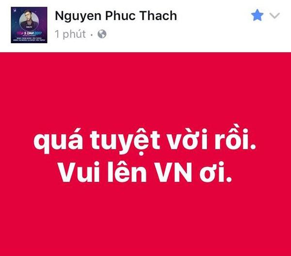 """Các mỹ nhân showbiz Việt thay nhau bày tỏ tình cảm tới những """"người hùng"""" U23 ảnh 10"""