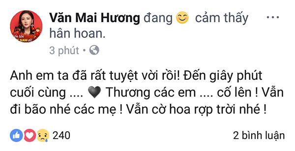 """Các mỹ nhân showbiz Việt thay nhau bày tỏ tình cảm tới những """"người hùng"""" U23 ảnh 2"""
