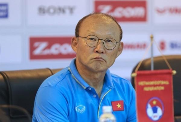 """HLV Park Hang Seo: """"Chưa khi nào chúng tôi thi đấu trong tình trạng thời tiết khắc nghiệt đến vậy"""" ảnh 1"""