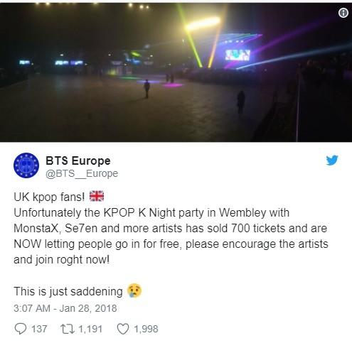Concert K-Pop tại London chỉ thu hút được 300 fan, ban tổ chức phải phát vé miễn phí ảnh 6