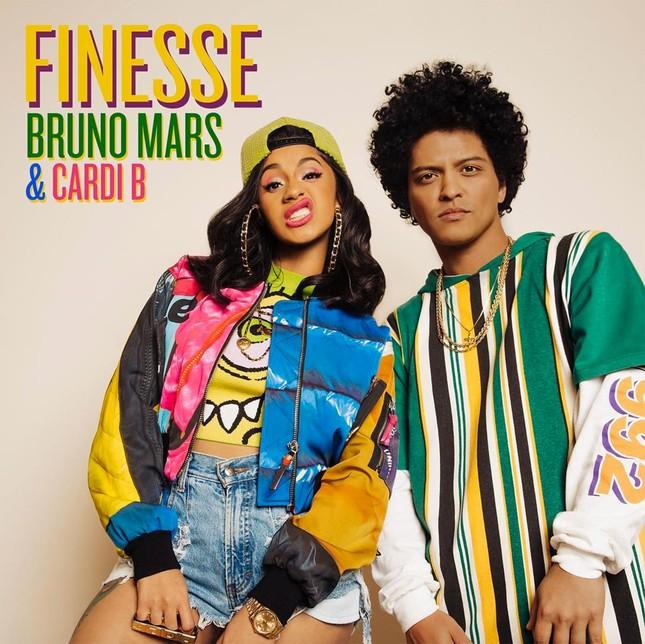 Bộ đôi Cardi B và Bruno Mars sẽ