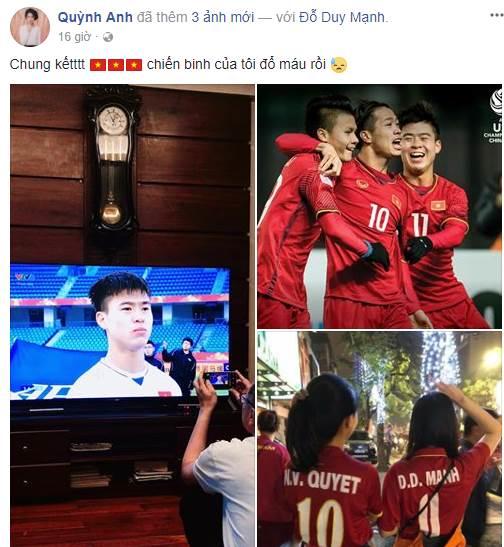 Lộ diện bạn gái của Duy Mạnh - đội phó U23 Việt Nam cắm quốc kỳ trên tuyết trắng ảnh 2